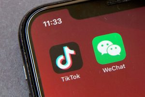 wechat and tik tok